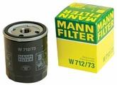 Масляный фильтр Mann-Filter W712/73