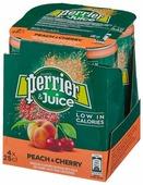 Газированный напиток Perrier персик и вишня