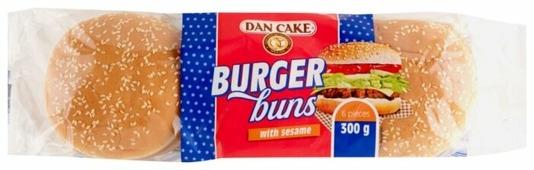 Dan Cake Булочки для гамбургеров с кунжутом 300 г