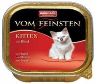 Корм для котят Animonda Vom Feinsten беззерновой, с говядиной 100 г (паштет)