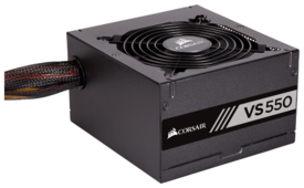 Блок питания Corsair VS550 80 Plus 550W