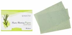 Limoni Матирующие салфетки для лица Matte Blotting Papers 80 шт.