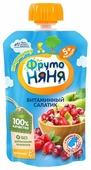 Пюре ФрутоНяня Витаминный салатик (с 5 месяцев) мягкая упаковка 90 г, 1 шт