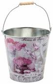 Ведро Gift'n'Home Парижские Цветы (ZВ- Fleurs) 8 л.