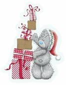 Наклейка интерьерная Winter Wings Me to you Мишка тедди с подарками, 23 см, MTY-N09012
