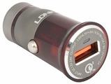 Автомобильная зарядка LDNIO C304Q + Lightning