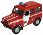 Внедорожник Welly УАЗ 31514 Пожарная Охрана (42380FS)