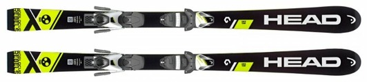 Горные лыжи HEAD WC i.Race Team SLR2 с креплениями SLR 7.5 AC (18/19)