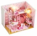 Dolemikki кукольный домик ZQW14