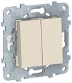 Перекрестный переключатель Schneider Electric NU521544, бежевый