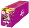 Корм для кошек Whiskas с курицей 85 г (кусочки в желе)