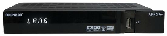 Спутниковый ресивер Openbox AS4K CI PRO