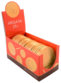 Фигурный шоколад Монетный двор Шоколадная Медаль Император России, шоу бокс