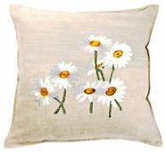 Чехол для подушки Pastel Белые ромашки 45х45 см (1315718)