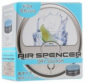 Eikosha Ароматизатор для автомобиля Air Spencer A-73, Dry Squash