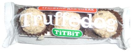 Лакомство для собак Titbit Трюфельдоги с кроликом