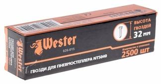 Гвозди Wester 826-015 для пистолета, 32 мм