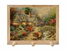 Вешалка Gift'n'Home для полотенец Домик в деревне 3 крючка