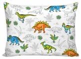 Комплект наволочек Сказка Динозавры на молнии, перкаль 70 х 70 см