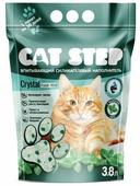 Впитывающий наполнитель Cat Step Crystal Fresh Mint (3.8 л)