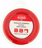 Леска для триммера Elitech 2.4mm x 44m 0809.005600