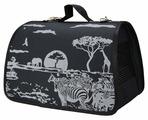 Переноска-сумка Dogman Лира Сафари №2 40х25х24 см