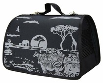 Переноска-сумка Dogman Лира Сафари 2 40х25х24 см