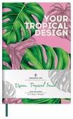 Записная книжка Greenwich Line Vision. Tropicaltrend, искусственная кожа, А5, 80 листов