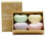 Лаборатория Катрин Набор бурлящих сердец для ванн Flowers & herbs 240 г