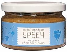 Живой Продукт Урбеч натуральная паста из семян светлого льна