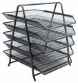 Лоток горизонтальный для бумаги Berlingo Steel&Style BMs_41052/BMs_41051 (5 отд.)