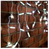 Гирлянды Neon-Night Айсикл 4.8x0.6m 152 LED White 255-137-6