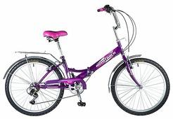 Подростковый городской велосипед Novatrack FS-24 6 (2018)