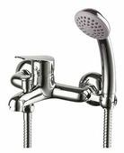 Смеситель для ванны с душем Lemark Partner LM6552C однорычажный лейка в комплекте хром