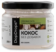 DopDrops Паста кокосовая без сахара