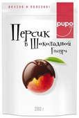 Персик Pupo в шоколадной глазури