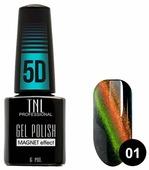 Гель-лак TNL Professional Magnet effect 5D, 6 мл