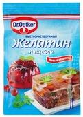 Dr. Oetker Желатин пищевой быстрорастворимый