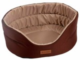 Лежак для собак Katsu Classic Shine S 46х42х18 см
