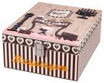 Шкатулка Русские подарки для рукоделия 84329 18x23x10 см