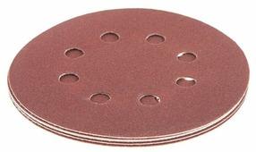 Шлифовальный круг на липучке Hammer 214-007 125 мм 5 шт