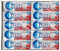 Жевательная резинка Orbit White классический, без сахара 13,6 г х 30 шт.