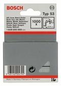Скобы BOSCH 1609200369 тип 53 для степлера, 18 мм