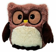Игрушка-грелка Warmies Hooty Совёнок коричневый 22 см