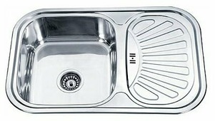 Врезная кухонная мойка Ledeme L67549-L 75х49см нержавеющая сталь