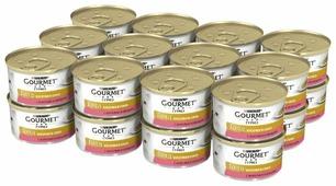 Корм для кошек Gourmet Голд с форелью 85 г (кусочки в соусе)