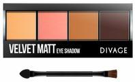 DIVAGE Палетка теней Palettes Eye Shadow Velvet matt