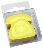 Global Notes блок с липким слоем Телефон 3 цвета 50х50 мм, 225 листов (584339)