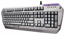 Клавиатура TESORO Colada Saint TS-G3NL(S) Aluminum Backlit Mechanical Gaming Keyboard Silver USB
