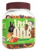 Лакомство для кроликов, грызунов Little One Snack Vegetable mix